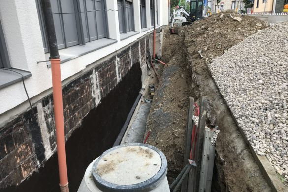 Bauwerkstrockenlegung